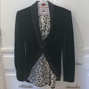 Vintage Emporio Armani velvet blazer